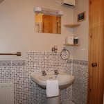 Upstairs double en suite shower room