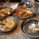 Scallops, calamari and steamers...oh my!