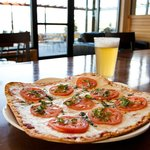 Build your own pizza and enjoy a local microbrew at The Bistro