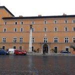 Front view from via della Concialiazione