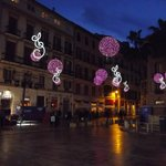 Malaga at New Year