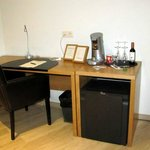 Desk with Mini Bar