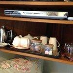 枕元のカフェセット