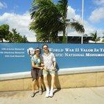Enterance to Pearl Harbor location