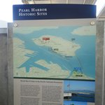 Pearl Harbor site map.