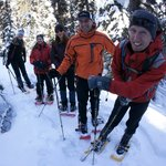 snowshoeing with great divide