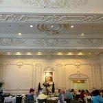 Inside the Victoria Restaurant