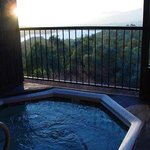 Hot Tubbing with a view!