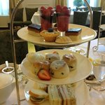 The King`s Tea: Finger Sandwiches, selection of pastries, & freshly baked scones