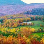 Fall Colors from the top of Pinnacle Hill in Lyme