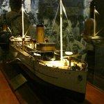 Maqueta en el Museo cito en las Esclusas Miraflores