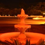 nice fountain in the entrance
