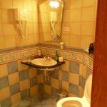 Une idée de la déco - un aspect de la salle de bains