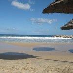 Beautifully deserted beach