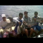 fishing charter with Oky
