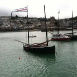 Boats visiting St Ives