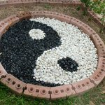 Ying and Yang in the garden