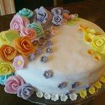 torta di pasta di zucchero ottima