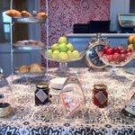buffet della colazione