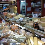 Huge selection of cheeses and more