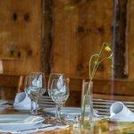Araucaria-clad walls in Restaurant Parque Antumalal
