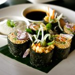 raw maki rolls, so tasty