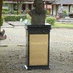 Memorial to Rabindranath Tagore
