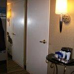 Door To Bathroom & Mirror Closet