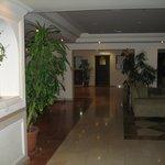 Réception ds l'hotel