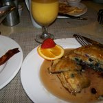 Restaurant Saffron, Breakfast off the menu