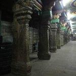 Sri Meenakshi Temple pillars