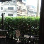 Open lounge - breakfast place