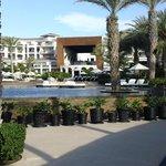 Resort from the beach.