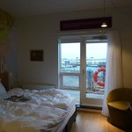 Room 420 - attic room with harbour view and balcony