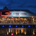 The Stoned Crab has it's own dock where it receives daily deliveries of Key West delicacies!