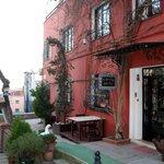 Entrance to Sebnem hotel