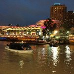 Clarke Quay, a stroll away from the hotel