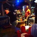 The bar (sorry bad shot)