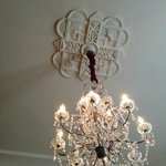 Beautiful Chandelier in Dining Room