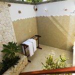 Wakatobi Dive Resort Ocean Bungalow Outdoor Shower