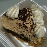Chocolate Peanut Butter Pie - rich and decadent