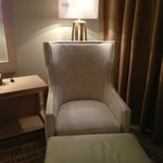 Comfy chair in the room