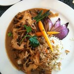 Chicken Marsala at the the Blue Pearl