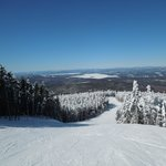 The view from the top on another bluebird day.