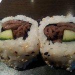 Bulgogi beef sushi