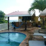 great pool bar area