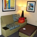 mini-suite sitting area