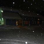 Snowing at K5