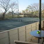 Tennis Courts outside rooms