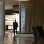 Hotel Lobby Water Wall